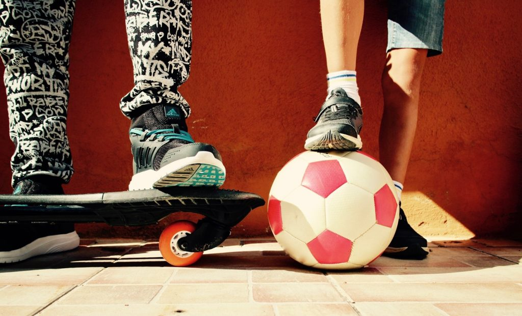 Street Soccer and Skate