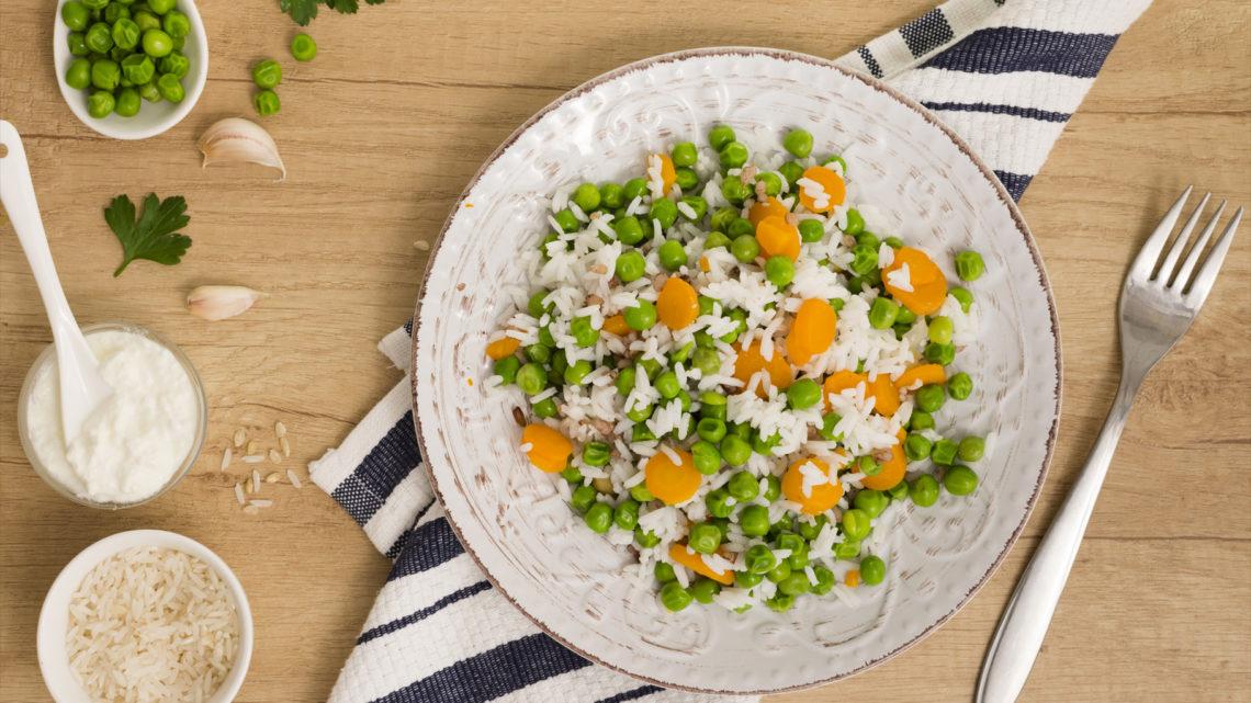 Ricette dal mondo: riso fagiolini e carote alla portata di tutti!
