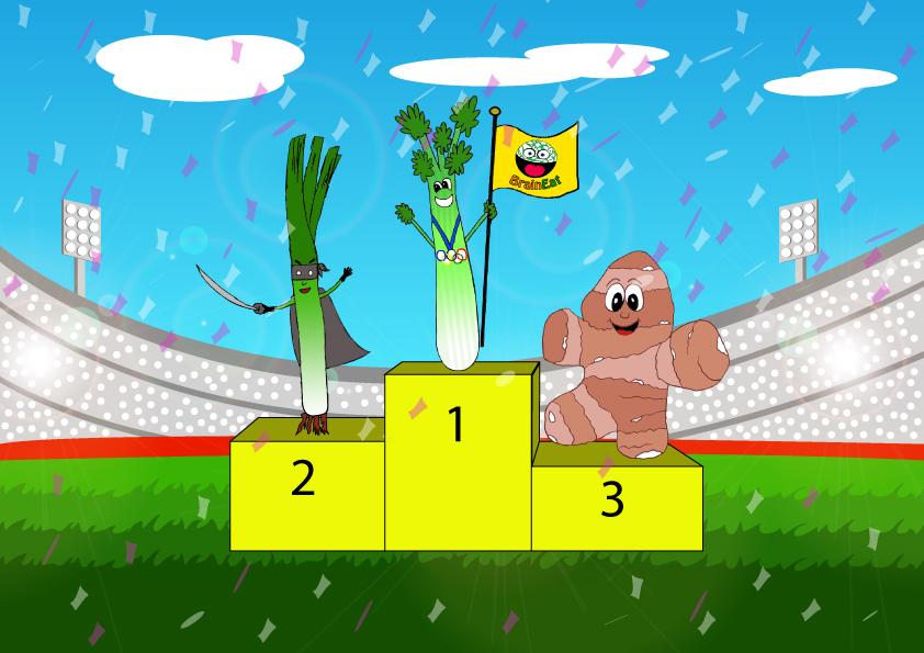 Favole della buonanotte: è tempo di Olimpiadi a Verduropolis!