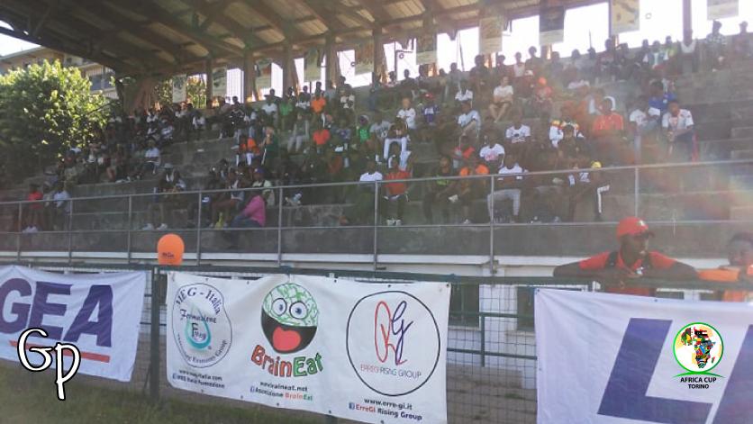 Africa Cup Torino 2019: quanta gente a vedere le partite!